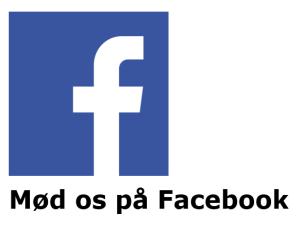 Mød os på Facebook